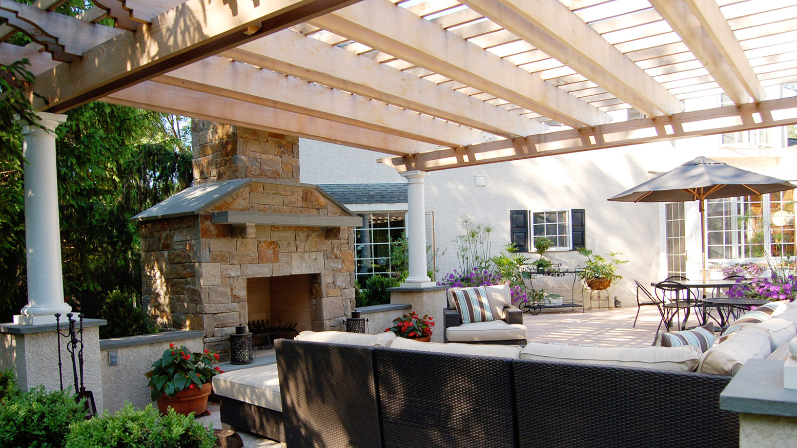 australian outdoor living pergolas